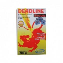 Raticida Deadline bloque BTS Caja 500 g
