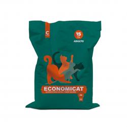 Alimento para Gato adulto Economicat CISTERNAS Saco 15 kg