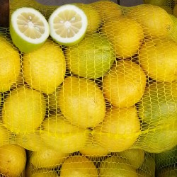 Malla Hortofrutícola amarilla de 25 kg MARIENBERG