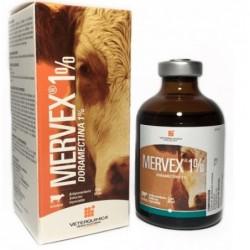Mervex 1 % Veterquímica Envase
