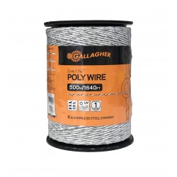 Cable Poly Bla Gallagher 500 m