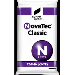 Fertilizante granular Novatec Classic 12-8-16+3MgO SOP + M.E. Compo Saco 25 kg