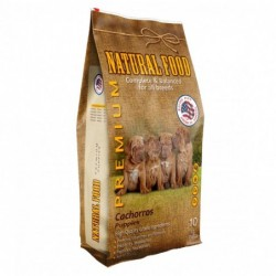 Concentrado Cachorro Premium Natural Food Saco 10 kg