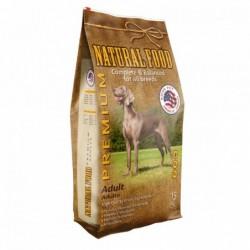 Concentrado Perro Adulto Premium Natural Food Saco 15 kg