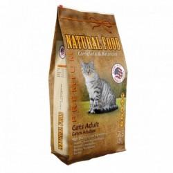 Concentrado Gato Adulto Natural Food Saco 7,5 kg