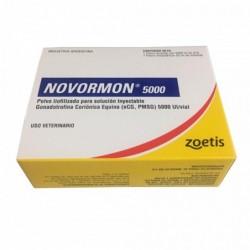 Novormon PMSG 5000 UI ZOETIS Frasco 25 mL