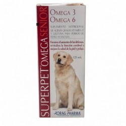 Suplemento Superpet Omega Senior DRAG PHARMA Dispensador 125 mL